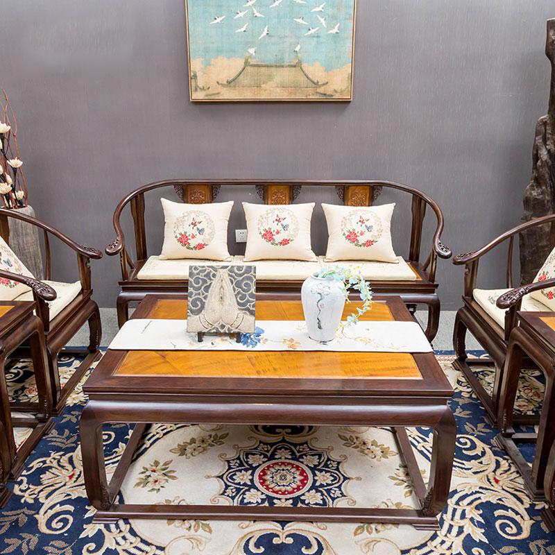 鐵包金皇宮椅沙發八件套