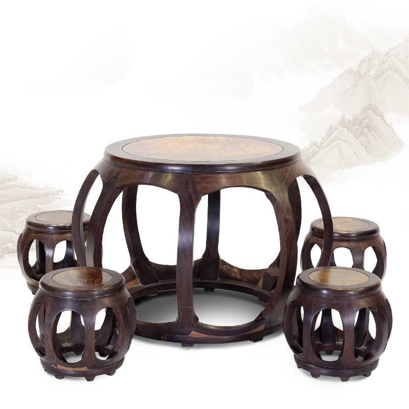 圓鼓桌休閑桌