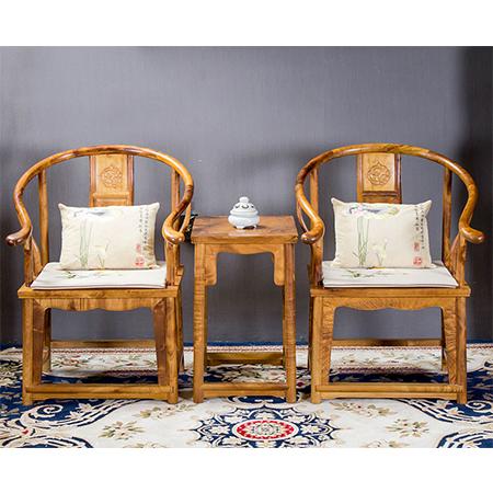 金絲楠 圈椅三件套
