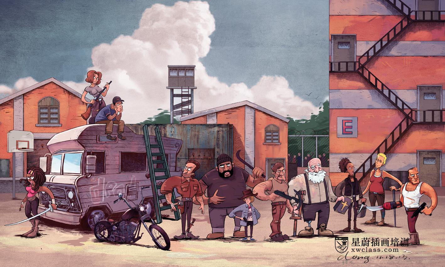 107 商业插画 (6)