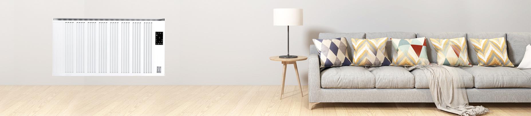 客厅电暖器采暖案例——暖先生环境科技