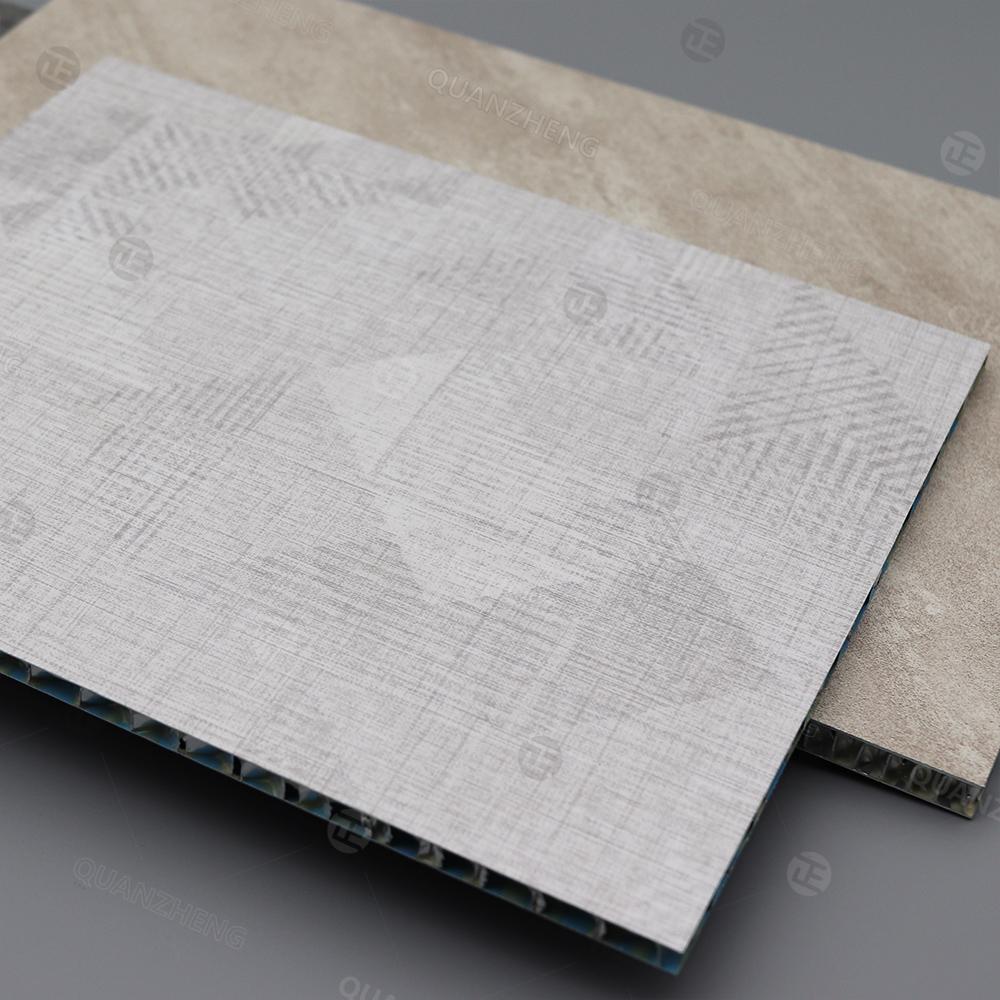 布纹系列铝蜂窝板银光十字纹斜纹直纹小方格抗刮涂粗布纹