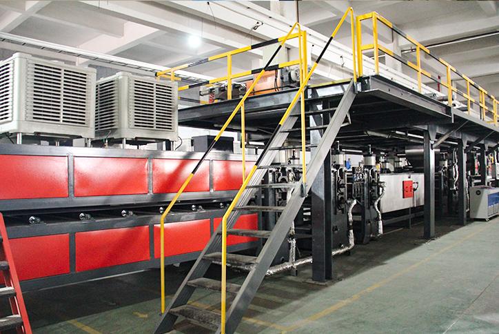 铝蜂窝板/铝三维板全自动生产线