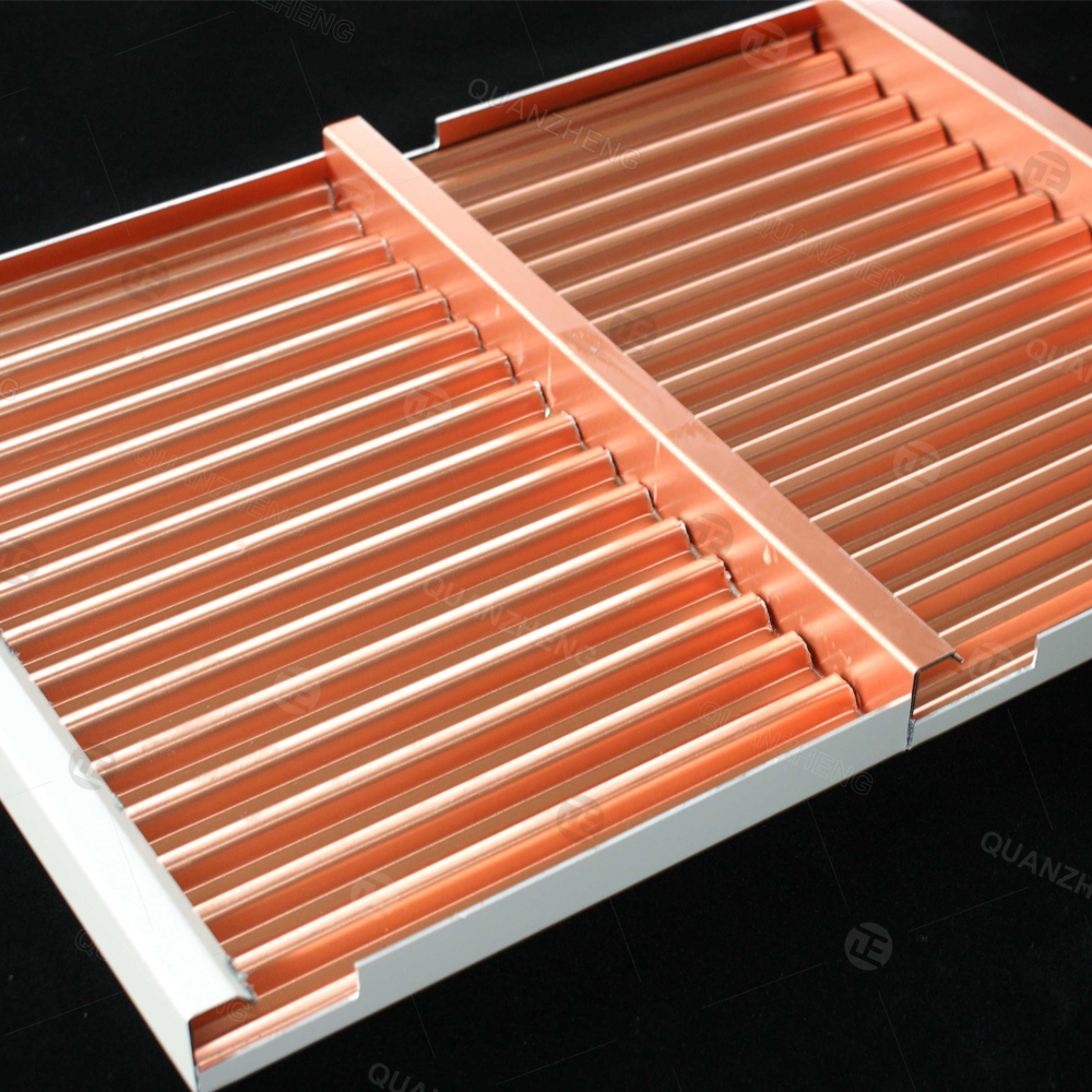 单面瓦楞板铝单板铝瓦楞