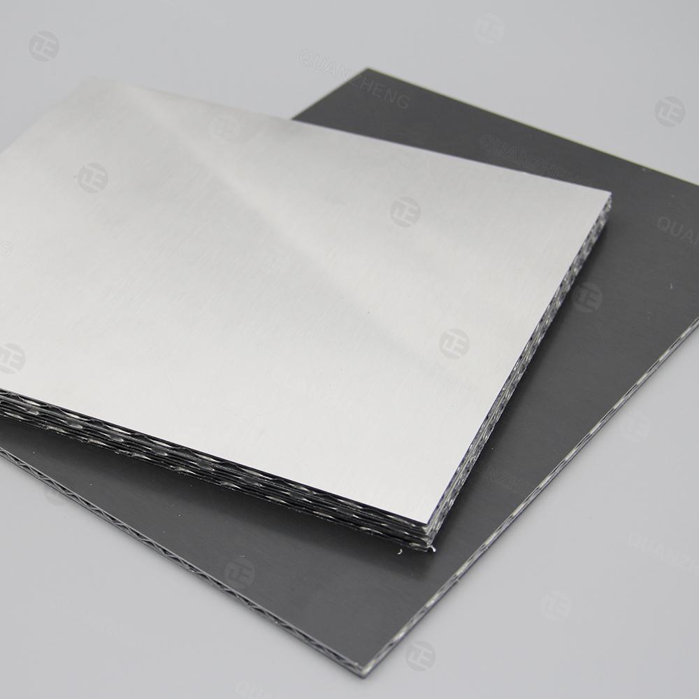 内装铝三维板——三维铝板太空板高强度装饰材料外墙装饰门板台面等