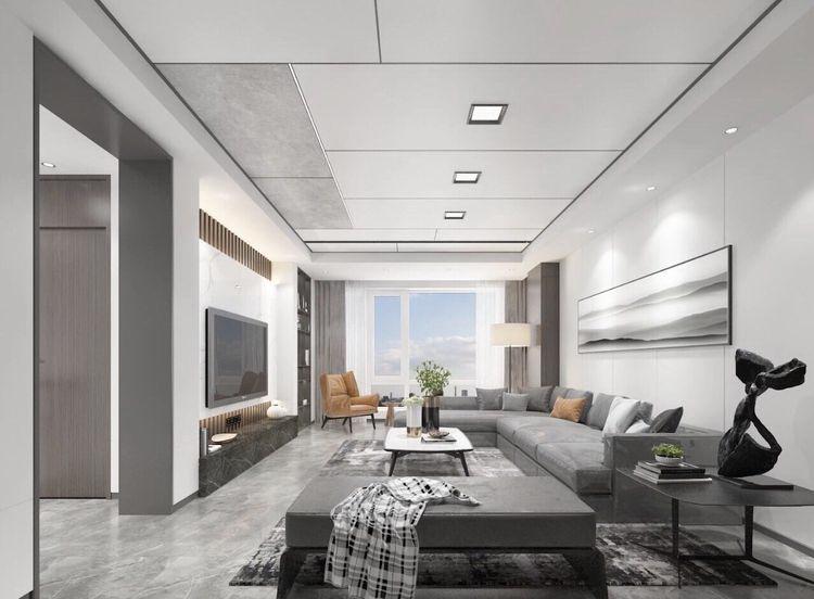 客厅吊顶造型 客厅吊顶装修流行的趋势