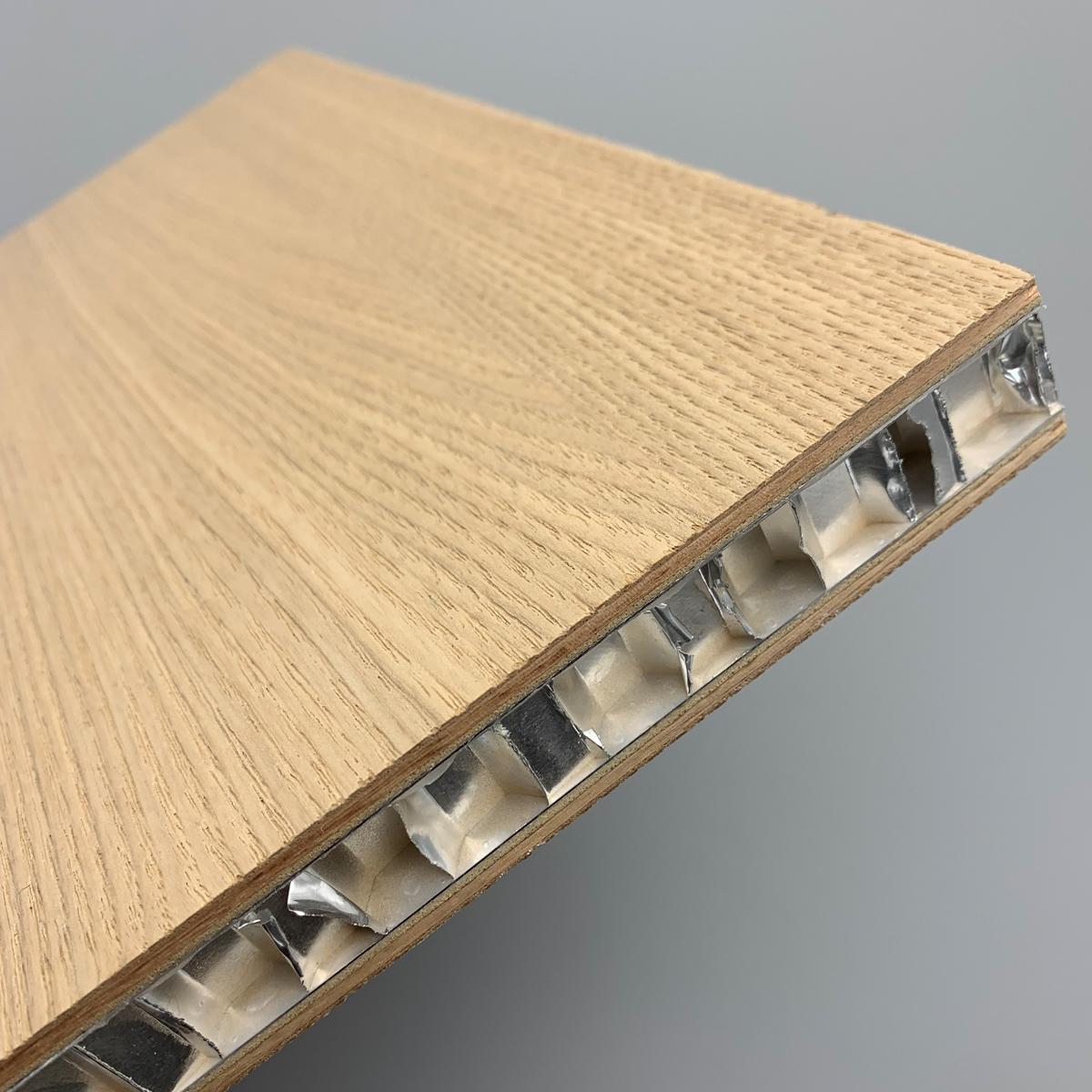 全正铝蜂窝板实木板双面饰面家具柜体单面复合饰面板