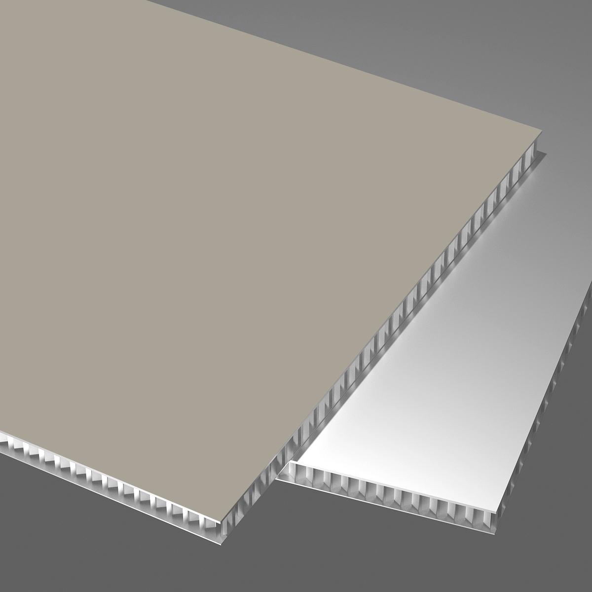 单色系列铝蜂窝板抗刮涂哑光阳极氧化喷涂辊涂亮光UV珠光