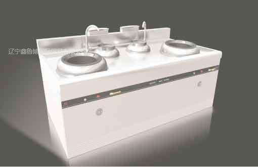 鑫鲁博商业厨房设备 品牌值得信赖 智能化灶具