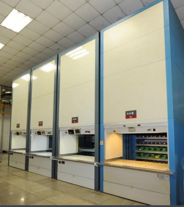 某大型设备制造企业选用乾德智能提升库并顺利应用