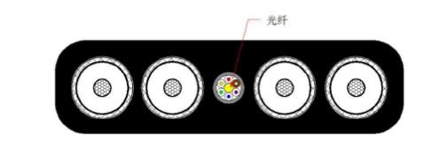 3*35+3*16/3+6FO(光纤)扁平卷盘电缆10KV