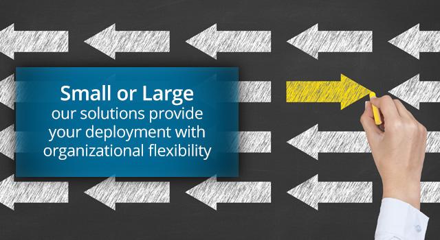 小或大!我们的解决方案为您的部署提供组织灵活性,少到几个云桌面,多到上万个云桌面