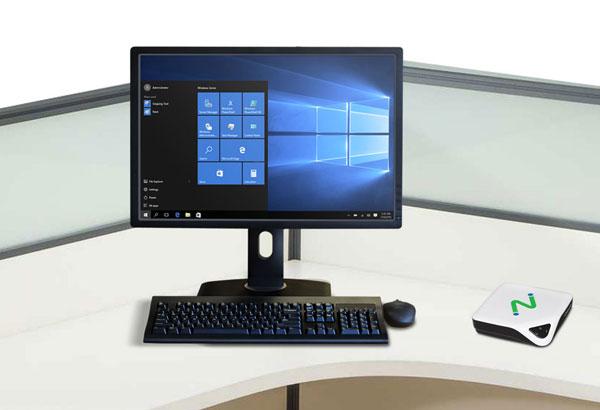 NComputing第2代瘦客户机L250(外挂显示器),L系列是云终端行业传奇