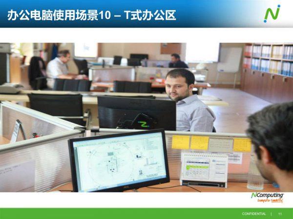 现代T式办公电脑云桌面方案