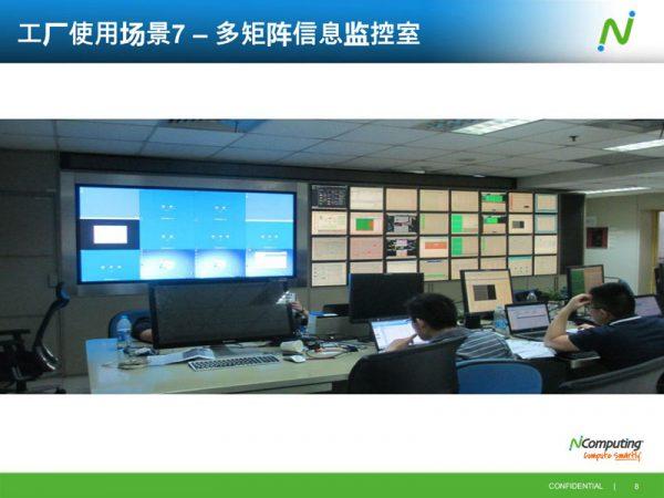 多矩阵信息监控室云桌面方案