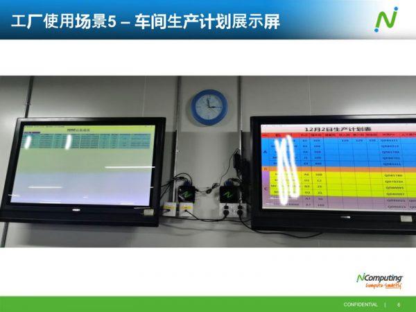 生产计划信息展示云桌面方案