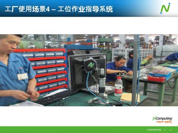 生产看板工位作业指导云桌面方案