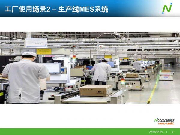 生产看板MES云桌面方案