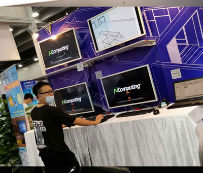 这一年我们迎来了全新的开始,正式启用中文域名www.ncomputing.cn,参加广州、上海展览会