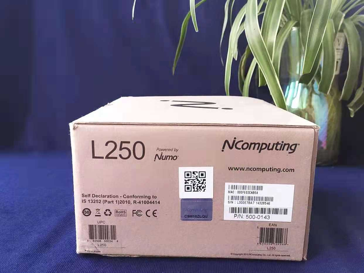 NComputing第2代基础款 L250全新设备,禁用USB外设接口