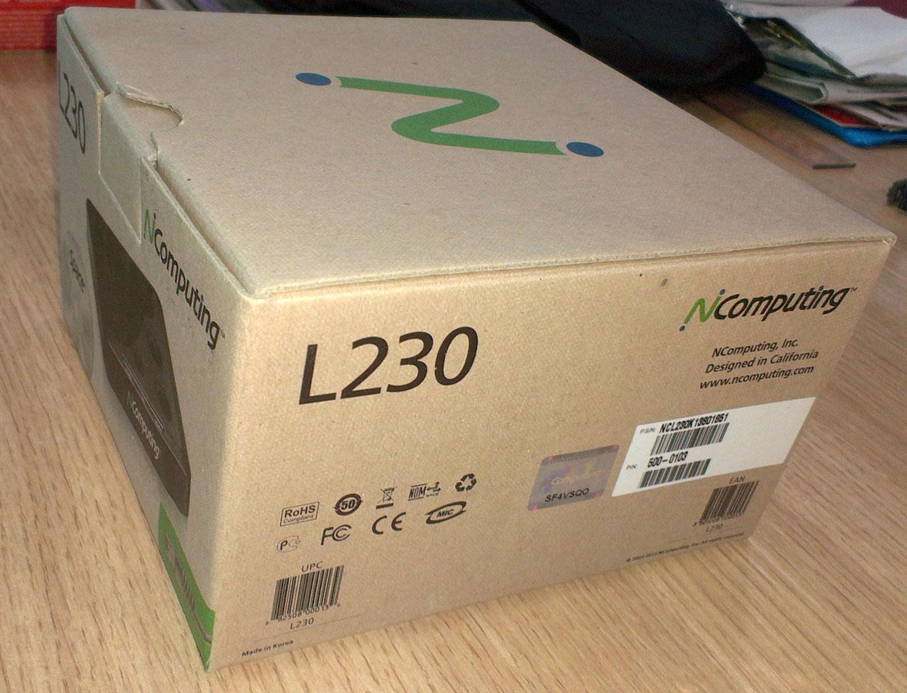 已停产-NComputing第1代经典款 L130(PS2接口,无USB口)