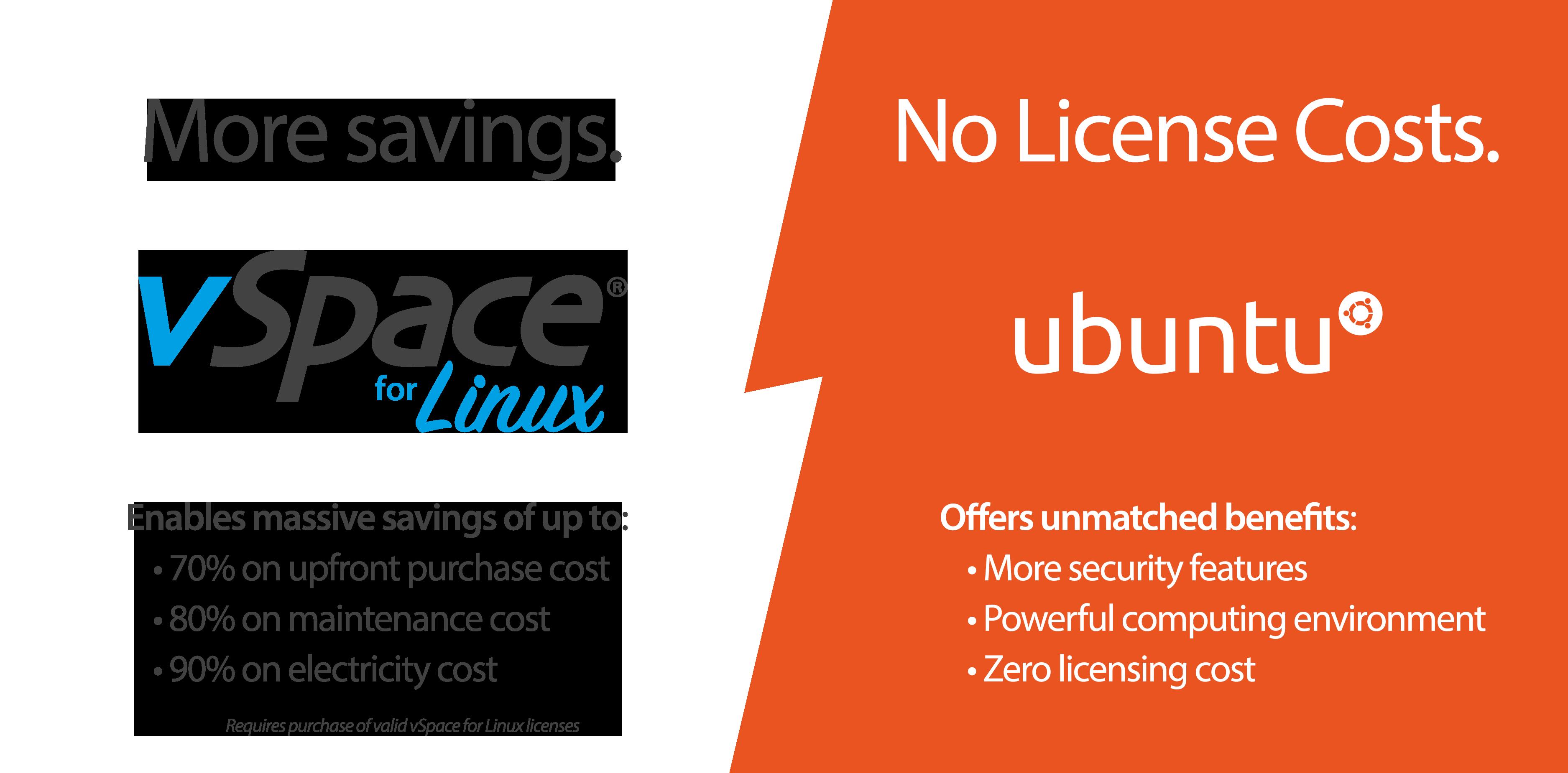 为何选择vSpace for Linux虚拟桌面平台