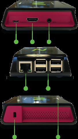 RX300云电脑|瘦客户机 外接连接口