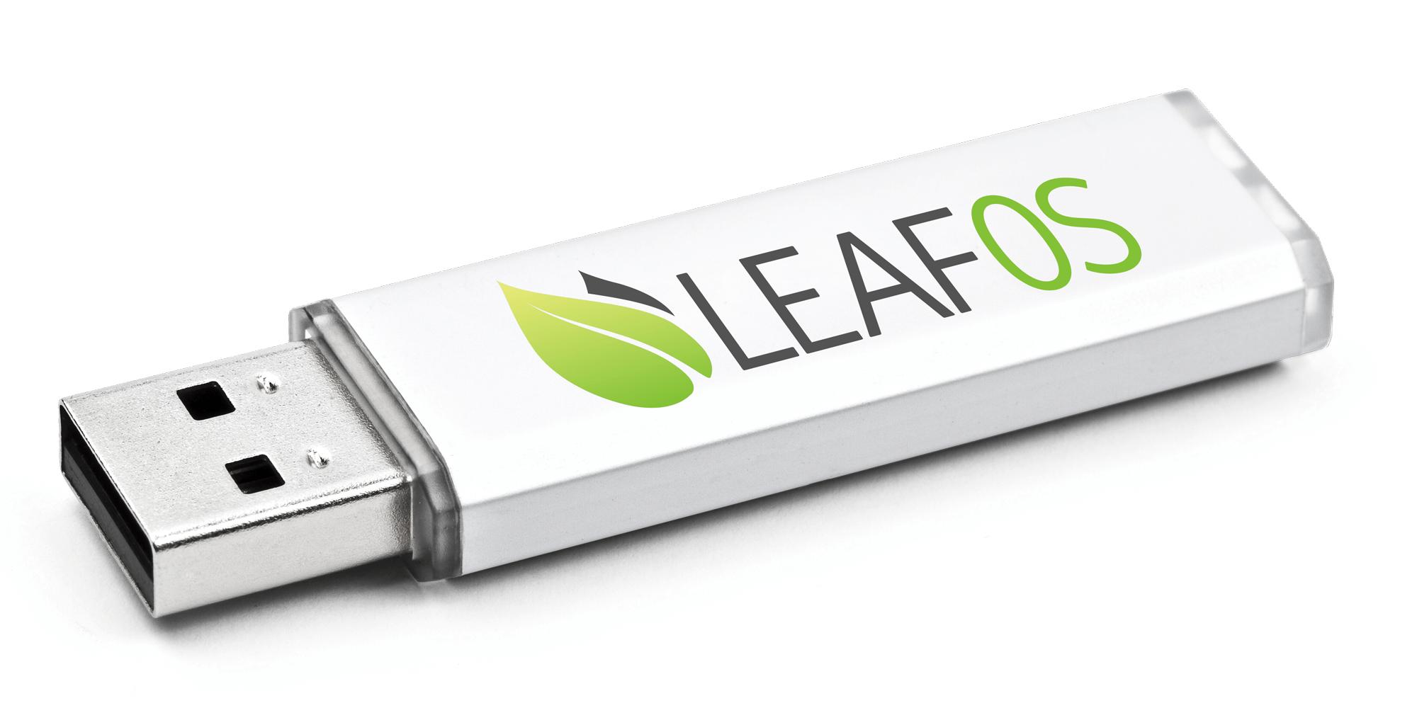 旧PC、电脑、笔记本升级工具LEAF OS可启动 USB 启动盘