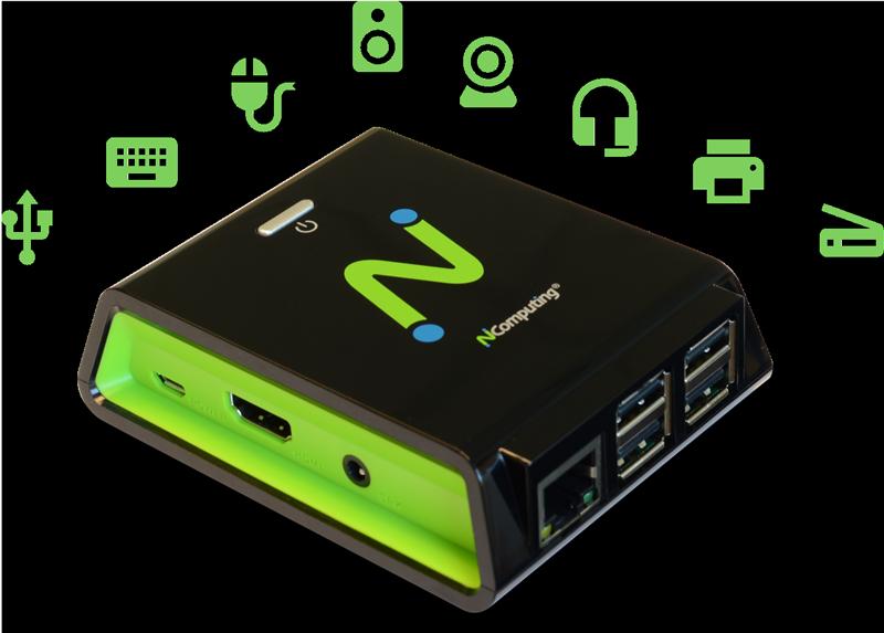 RX-HDX/RX-HDX+ 还允许对 USB 外围设备进行透明重定向