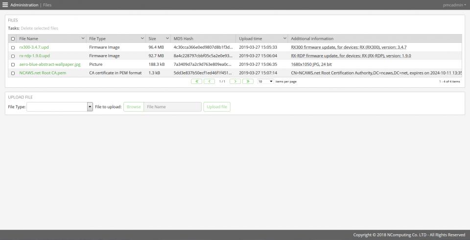 PMC(瘦客户机管理控制台)-ipconfig选项卡