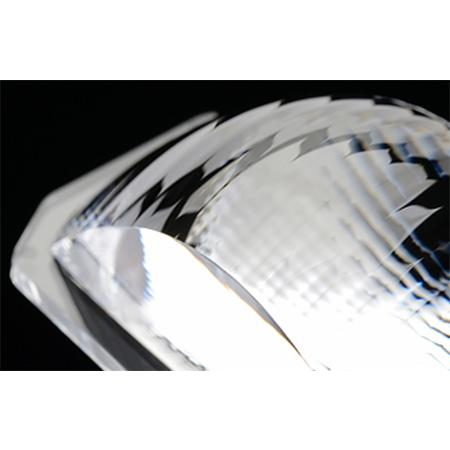 汽车大灯用变形透镜