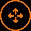 全面兼容原有E1/IP专线网络,保护投资  保持原有网络基本架构和使用习惯