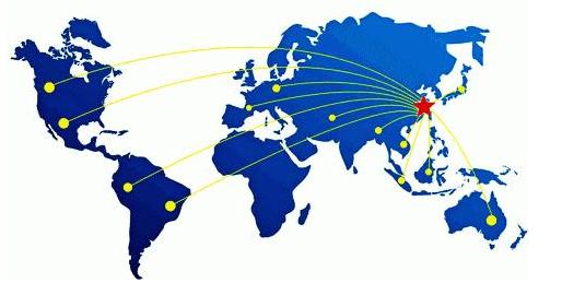 跨越国境的货品和服务交易,一般由进口贸易和出口贸易组成。